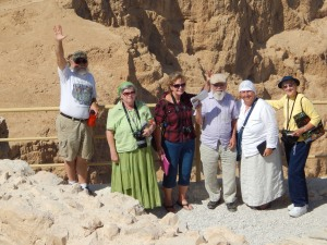 Greetings from Masada!