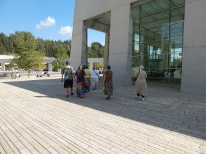 Yad Va Shem - The Holocaust Museum.