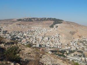 Shechem from Mt. Gerrizim Overlook.